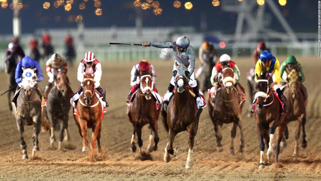 "California Chrome, one of the greatest thoroughbreds in the past decade, <a href=""https://edition.cnn.com/2016/03/26/sport/horse-racing-dubai-world-cup/index.html"">won in 2016</a>."