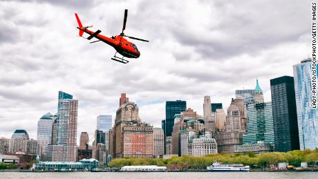Helicopter tour in NYC