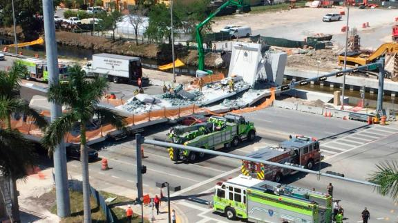 Multiple agencies responded to the scene. A spokeswoman with Miami-Dade Fire Rescue told CNN there were multiple injuries.