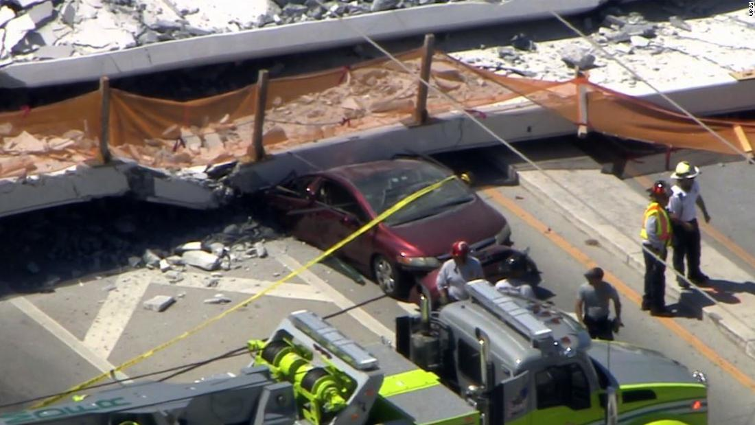 Bridge collapse witness describes moment of crash
