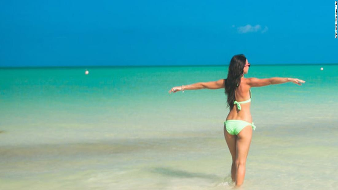 Mexico's best barefoot beach