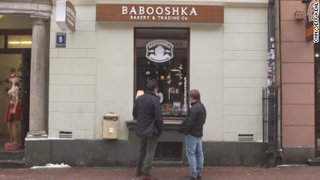 The Babooshka bakery in Riga.
