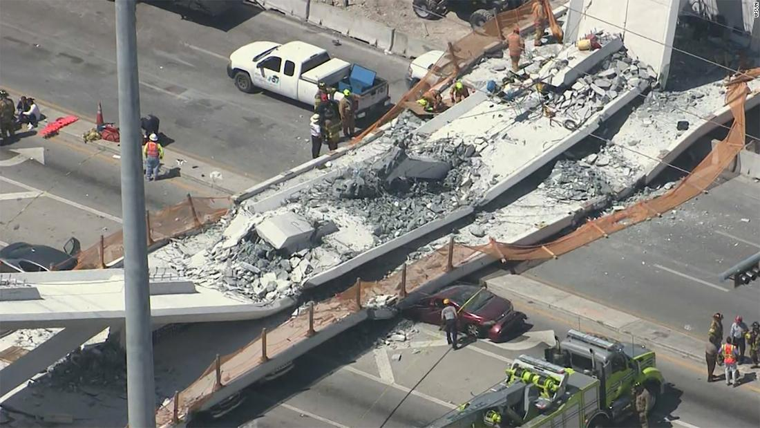 'It cracked like hell.' Engineer ignored warning signs hours before deadly FIU footbridge collapse, report says