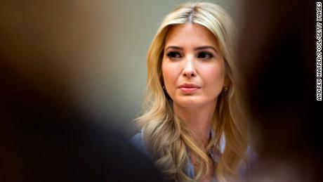 WASHINGTON, DC - MARCH 27:  Ivanka Trump, daughter of U.S. President Donald Trump, listens while meeting with women small business owners with Trump, not pictured, in the Roosevelt Room of the White House on March 27, 2017 in Washington, D.C.  Investors on Monday further unwound trades initiated in November resting on the idea that the election of Trump and a Republican Congress meant smooth passage of an agenda that featured business-friendly tax cuts and regulatory changes. (Photo by  Andrew Harrer-Pool/Getty Images)