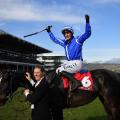 Paul Townend celebrates on Penhill cheltenham festival