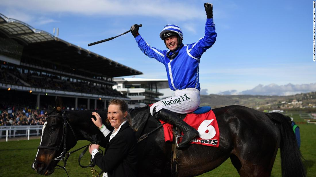 <strong>History maker: </strong>On Thursday, the 12-1 shot Penhill, ridden to victory in the Stayers' Hurdle by Paul Townend, put trainer Willie Mullins level with Nicky Henderson on the all-time list for most Cheltenham wins.