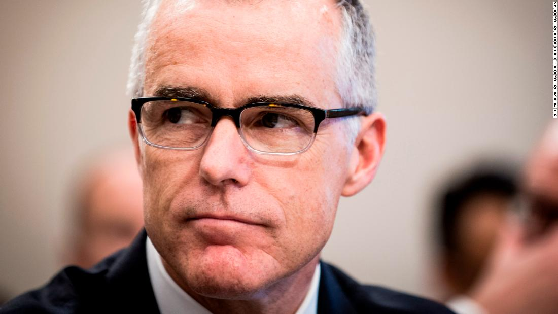The Andrew McCabe I knew will move on from this firing (Opinion)