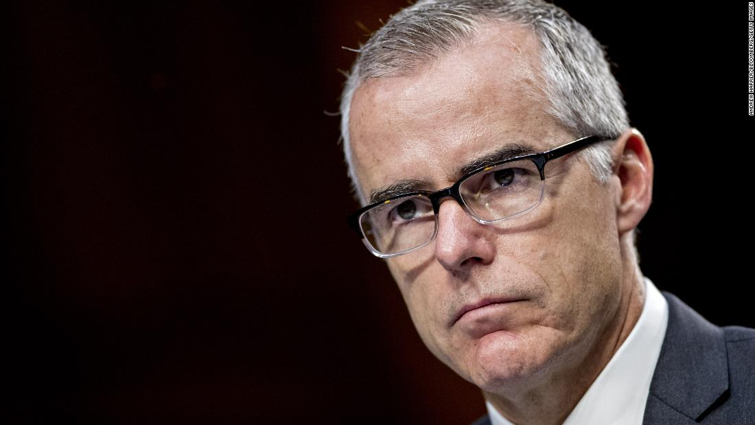 McCabe could lose 'a lot of money' if fired before Sunday