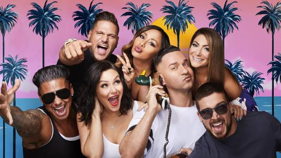 "Most of the ""Jersey Shore"" crew reunited for ""Jersey Shore Family Vacation"" which premiered in April 2018 on MTV. The series follows the original ruckus housemates (except for Sammi ""Sweetheart"" Giancola) who are now in different stages of their lives. Let"