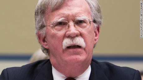 WASHINGTON, DC - NOVEMBER 08: US Ambassador to United Nations John Bolton speaks at the National Oversight and Government Reform Committee on moving the U.S. Embassy in Israel to Jerusalem on Capitol Hill on November 8, 2017 in Washington, DC. (Photo by Tasos Katopodis/Getty Images)