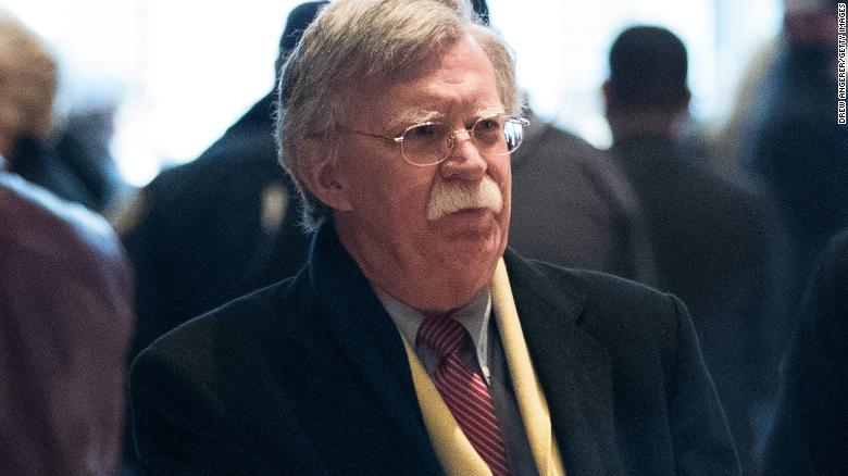 John Bolton faced with crisis on first day
