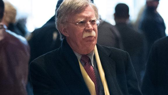 NEW YORK, NY - DECEMBER 2: John Bolton, former United States Ambassador to the United Nations, arrives at Trump Tower, December 2, 2016 in New York City. President-elect Donald Trump and his transition team are in the process of filling cabinet and other high level positions for the new administration. (Photo by Drew Angerer/Getty Images)