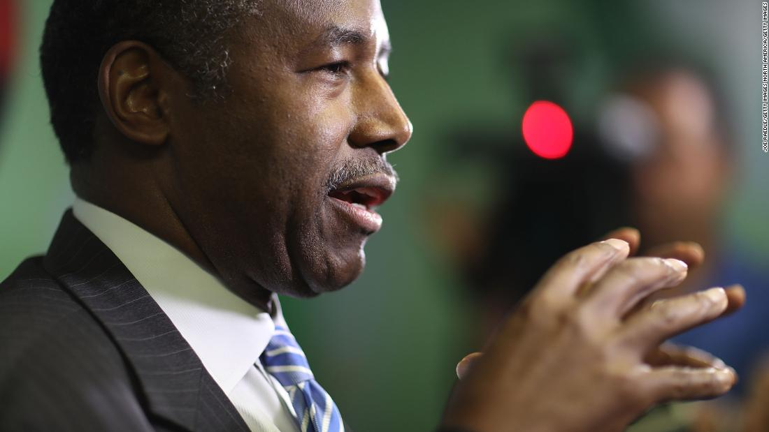 Ben Carson's ex-Uber driver chief of staff sends a signal