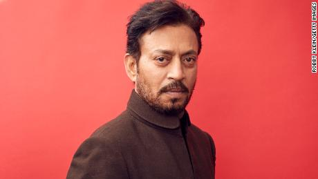 PARK CITY, UT - JANUARY 22:  Irrfan Khan from the film 'Puzzle' poses for a portrait in the YouTube x Getty Images Portrait Studio at 2018 Sundance Film Festival on January 22, 2018 in Park City, Utah.  (Photo by Robby Klein/Getty Images)