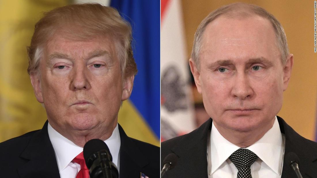 Trump congratulates Putin on winning reelection