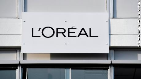 A picture taken on February 16, 2018 shows a board with the L'Oreal logo outside of the L'Oreal plant, in Lassigny. / AFP PHOTO / Bertrand GUAY        (Photo credit should read BERTRAND GUAY/AFP/Getty Images)