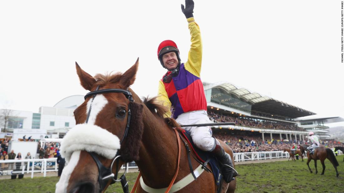 <strong>Gold Cup: </strong>Native River won the 2018 Cheltenham Gold Cup, jump racing's blue riband event, after an epic duel for more than two circuits with pre-race favorite Might Bite.
