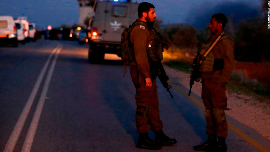Two Israeli soldiers killed in West Bank car attack