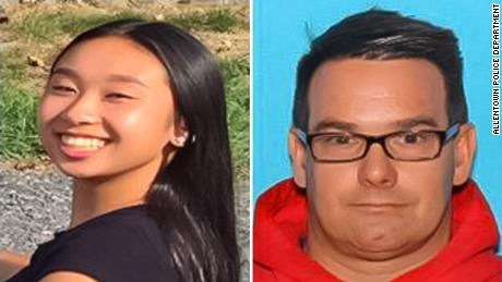 Allentown, Pennsylvania, police say Amy Yu, 16, and Kevin Esterly, 45, bought a one-way flight to Mexico. Authorities arrested Esterly a little over a week after the two of them boarded a plane.