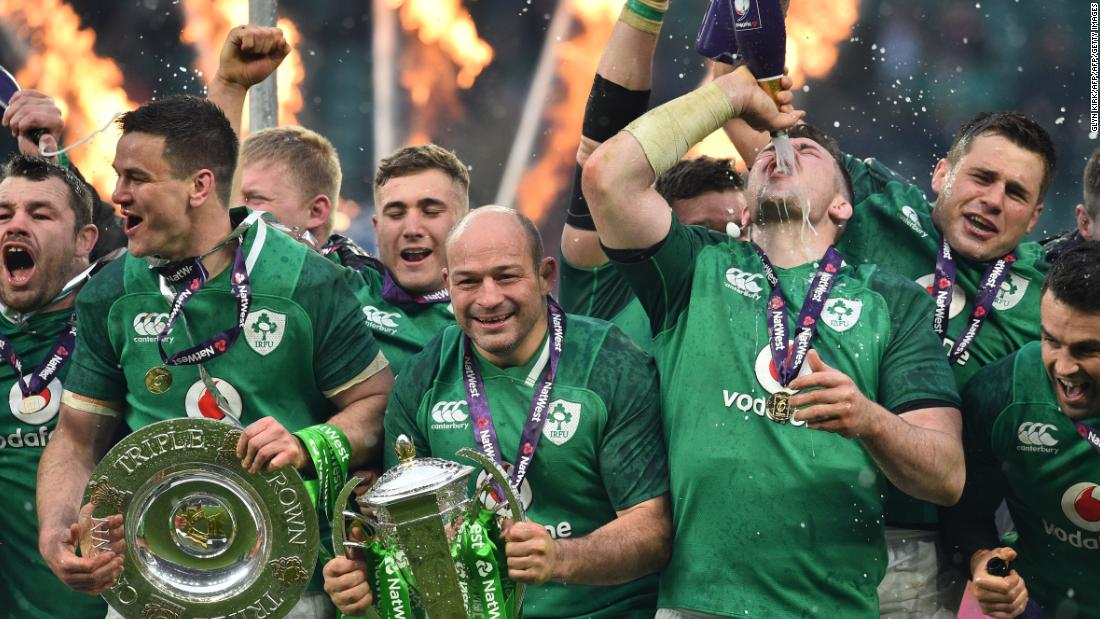 Six Nations: Ireland defeat England to secure third ever grand slam - CNN