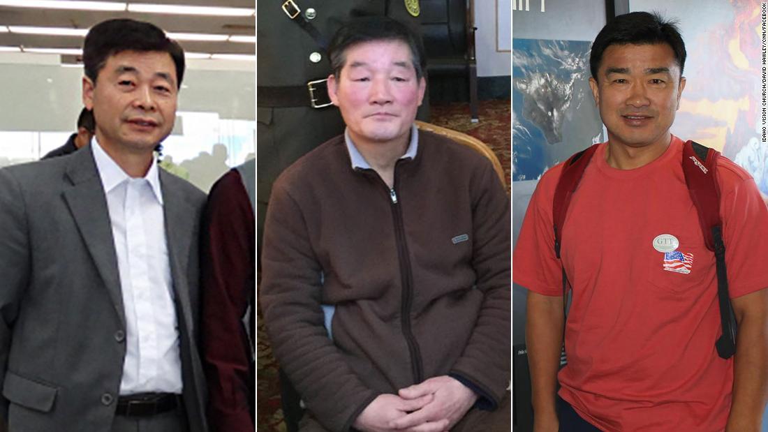 Three Americans held in North Korea released 'in good health'