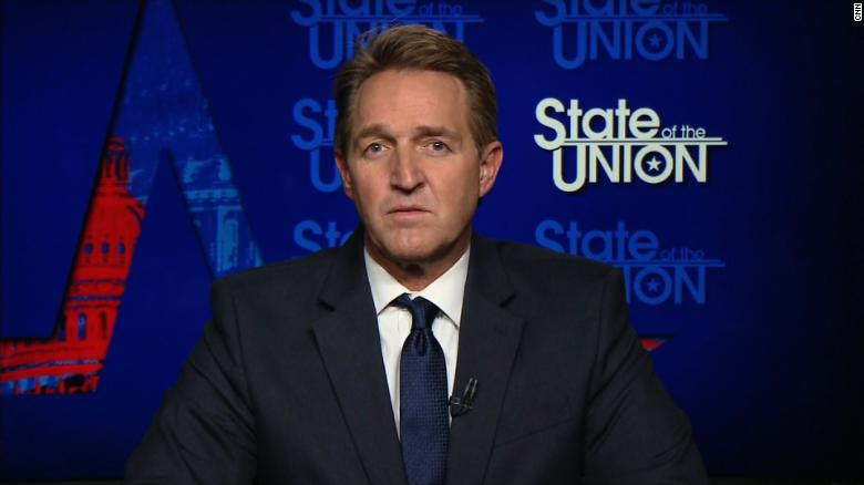 Flake: No one can defeat Trump right now