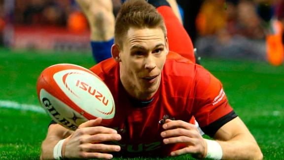 Wales edged past France 14-13 in Cardiff, where wing Liam Williams got on the scoresheet in the opening minutes for the hosts.
