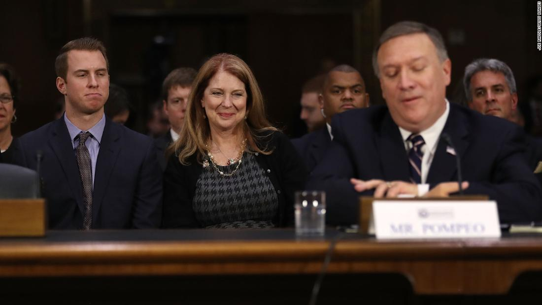 Susan Pompeo's travels during shutdown anger some diplomats, sources say