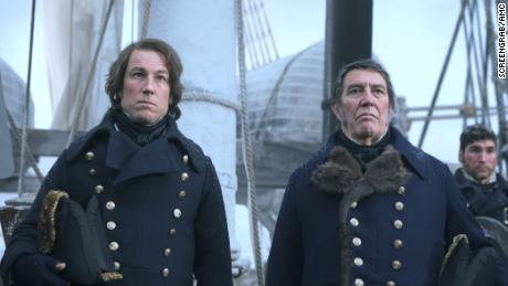 Tobias Menzies, Ciarán Hinds in 'The Terror'