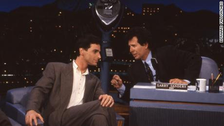 Bob Saget and Garry Shandling on 'The Larry Sanders Show'