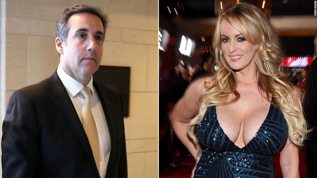 Stormy Daniels sues Trump lawyer Michael Cohen for defamation