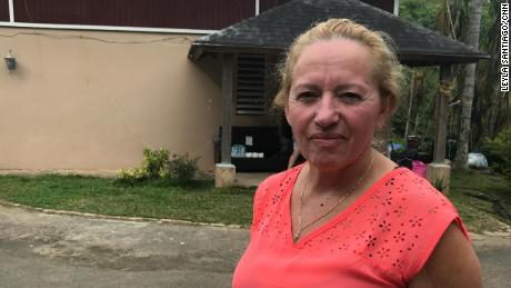 Lourdes Santiago still has no power. The water was only turned on last week, four days shy of six months since the storm.