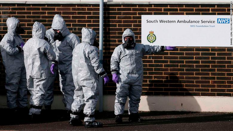 Nerve agent attack still a mystery one month on