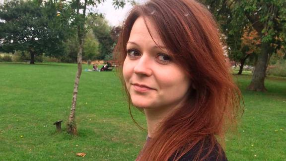 Yulia Skripal in an image taken from her Facebook account on Tuesday March 6, 2018
