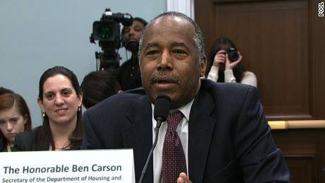 HUD's Ben Carson testifies his wife picked 'style and a color' of dining set