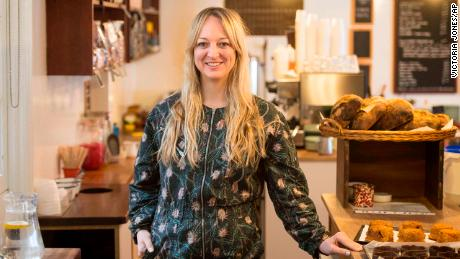 Claire Ptak, owner of Violet Bakery in East London, will make the wedding cake.
