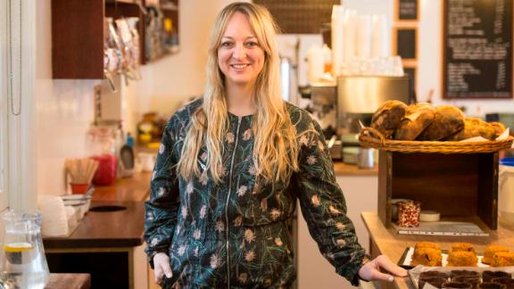 Claire Ptak, owner of Violet Bakery in east London, has been chosen to make the couple's wedding cake.