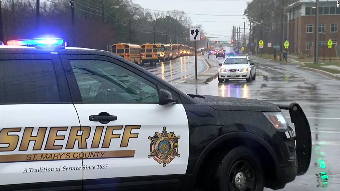 Maryland school officer stops armed student who shot 2 others