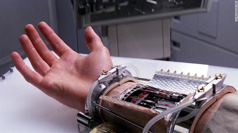 Luke Skywalker Prosthetic Hand from Star Wars Episode V: The Empire Strikes Back.