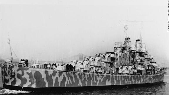The USS Juneau In New York Harbor, 11 February 1942.