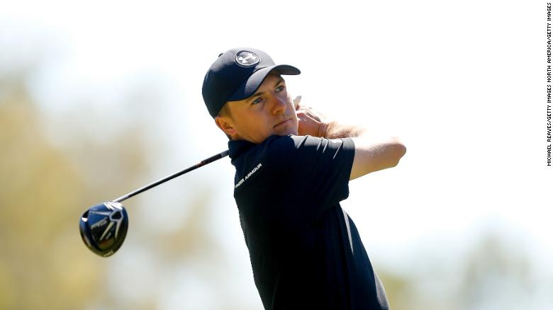 Jordan Spieth tees it up with Lorena Ochoa