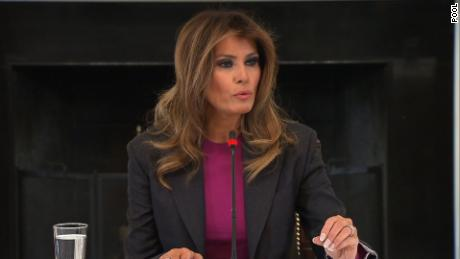 Melania responds to critics
