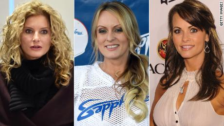 Summer Zervos, Stormy Daniels and Karen McDougal