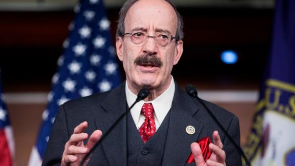Rep. Eliot Engel (D-NY) speaks during a news conference discussing Russian sanctions on Capitol Hill February 15, 2017 in Washington, DC.