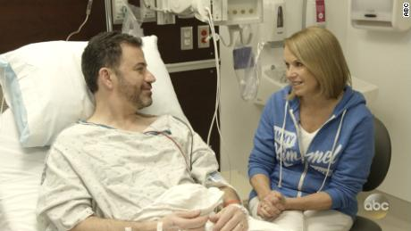 Jimmy Kimmel Katie Couric