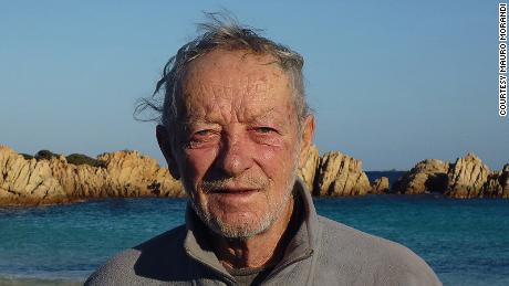 Italian hermit living alone on an island says self-isolation is the ultimate journey