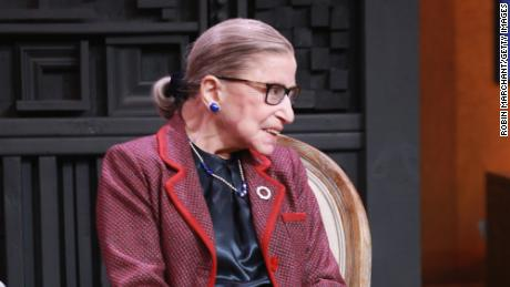 PAAssociate Justice of the Supreme Court of the United States Ruth Bader Ginsburg speaks during the Cinema Cafe with Justice Ruth Bader Ginsburg and Nina Totenberg during the 2018 Sundance Film Festival at Filmmaker Lodge on January 21, 2018 in Park City, Utah.