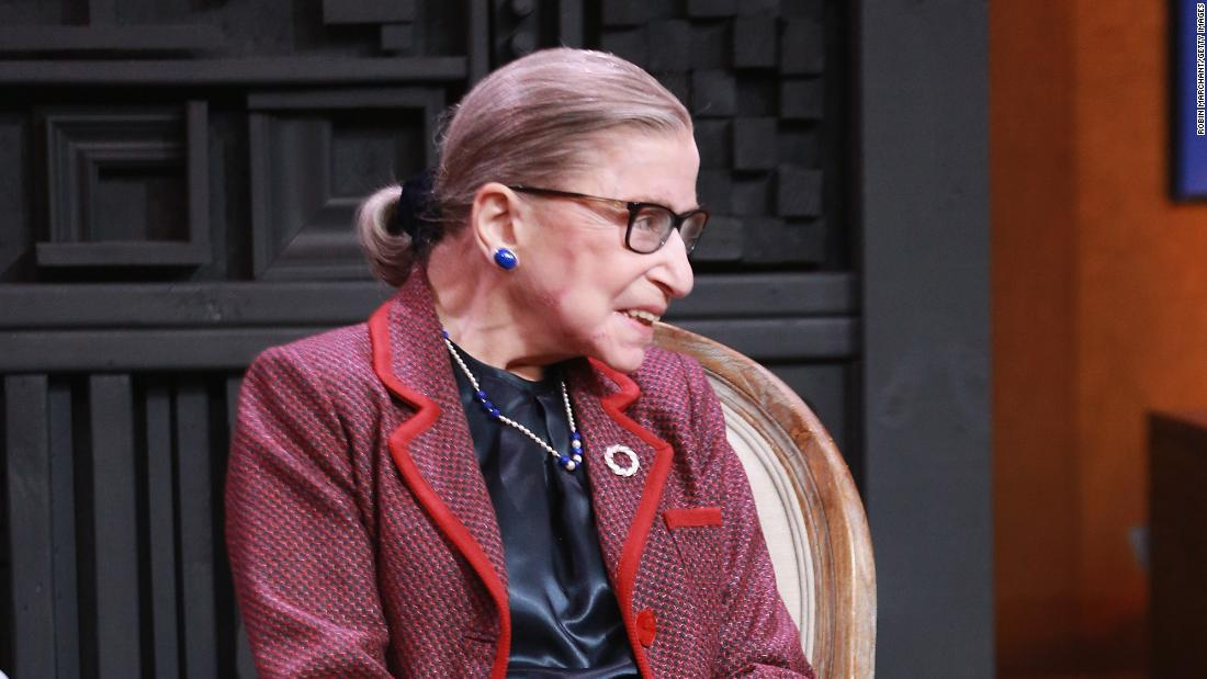 Ginsburg suggests she has at least five more years on the Supreme Court – Trending Stuff