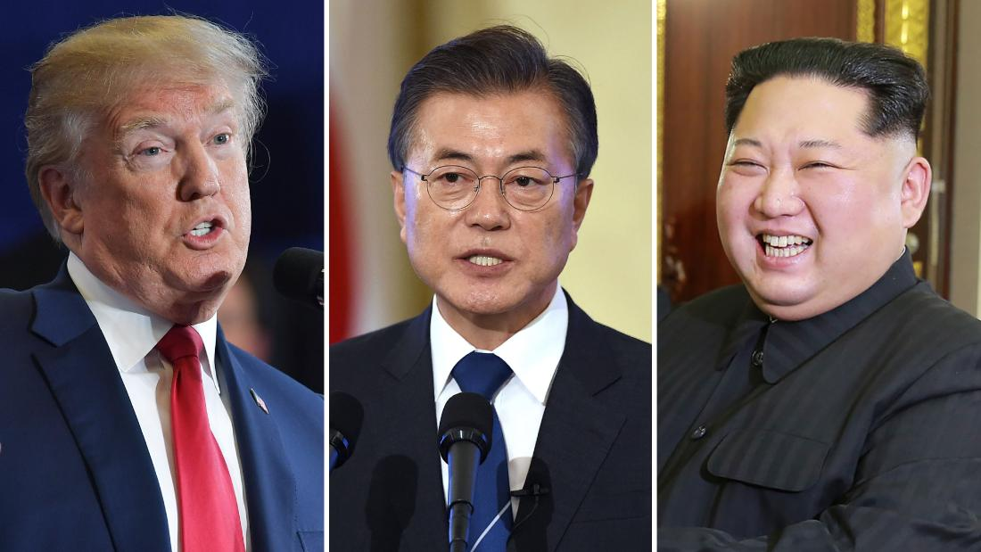 US, South Korean presidents likely to meet before Trump-Kim summit - CNN