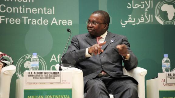 H.E. Albert M. Muchanga, African Union Commissioner.